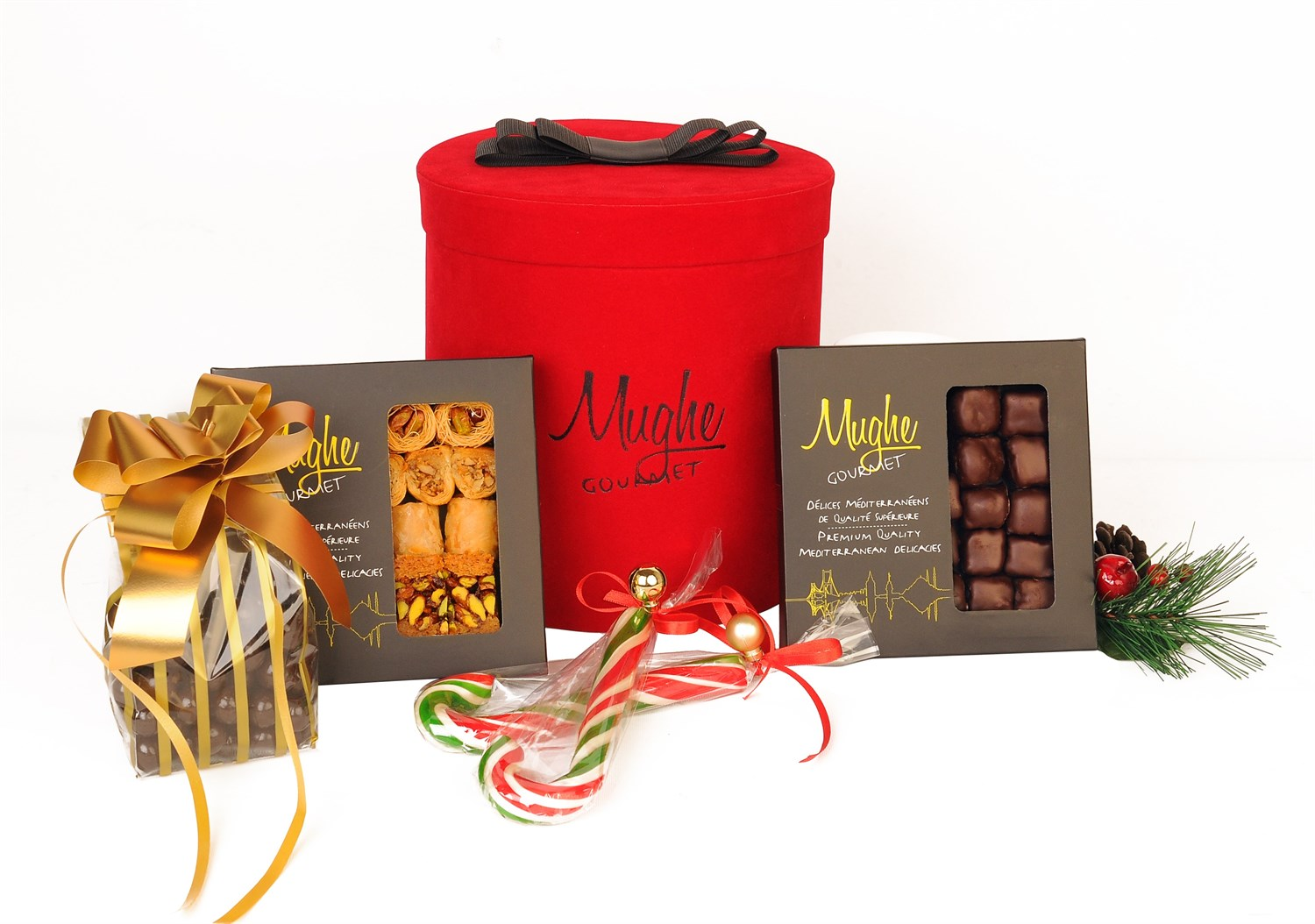 Mughe Gourmet Luxury Gift Box Hamper For Christmas Holiday Hampers Baskets Unique Boxes And Best Xmas Gifts Baskets