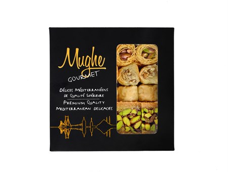 Mughe Turkish Baklava Sampler Gift Box